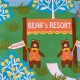 Cotorienne'Bear's Resort - color A(green)
