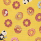 Panda Loves Sweets'-  color B(canary yellow)