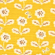 Smiley Flowers'- color D(mustard)